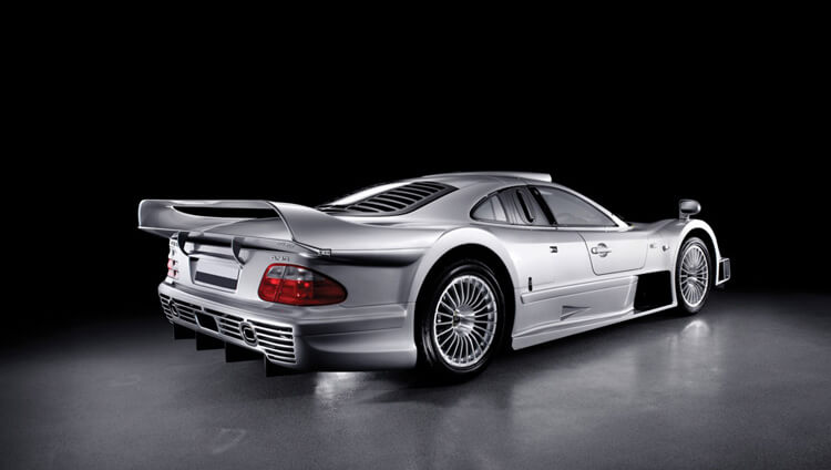 CLK GTR Strassenversion