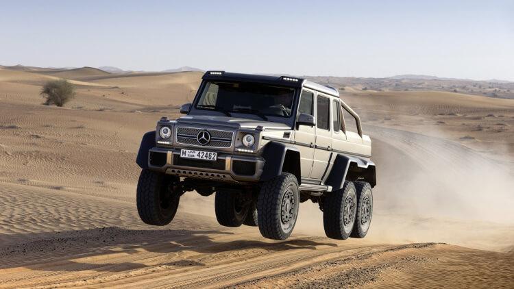 Mercedes-Benz SLS G63 AMG 6x6 (W463)