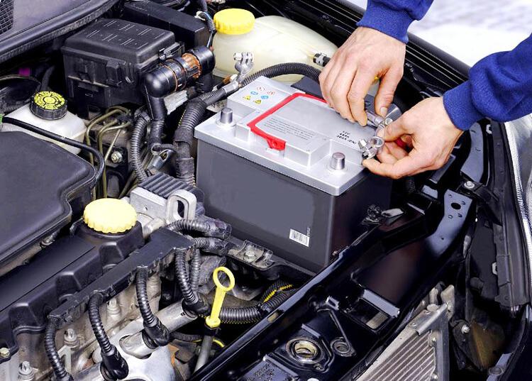 Замена авто аккумулятора
