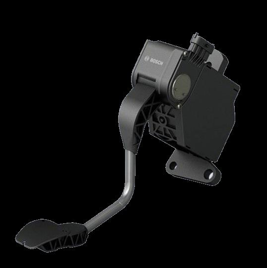 Электронная педаль сцепления фирмы Bosch