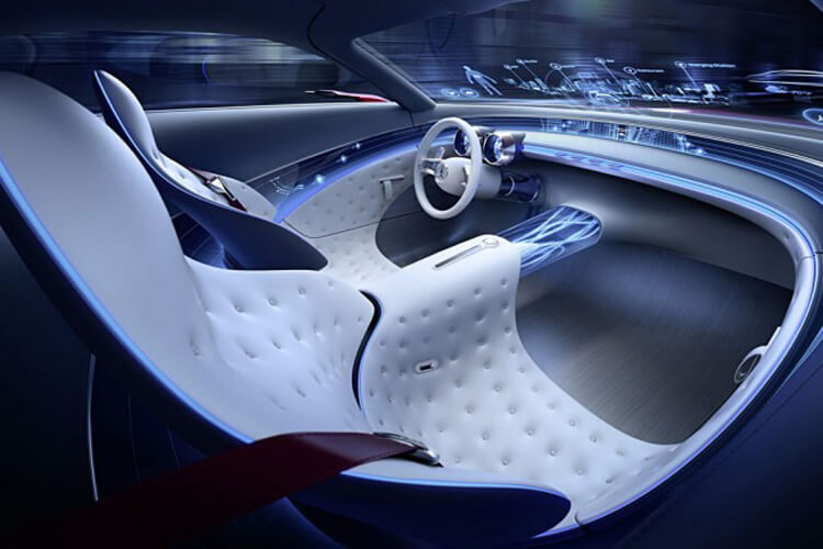 Салон Vision Mercedes-Maybach 6 Concept 2016-2017 года