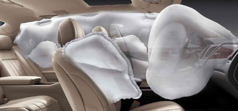 Подушки безопасности по периметру салона