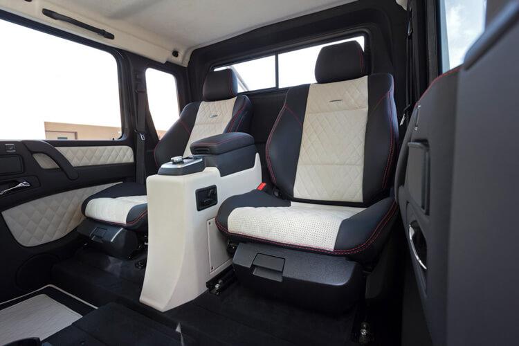 Салон Mercedes-Benz SLS G63 AMG 6x6