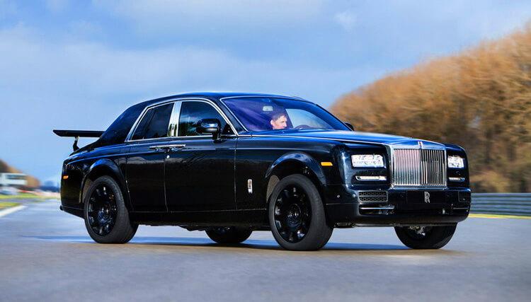 Прототип внедорожника Rolls-Royce
