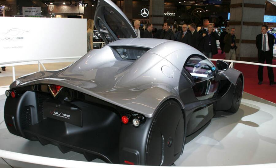 Дизайн электромобиля