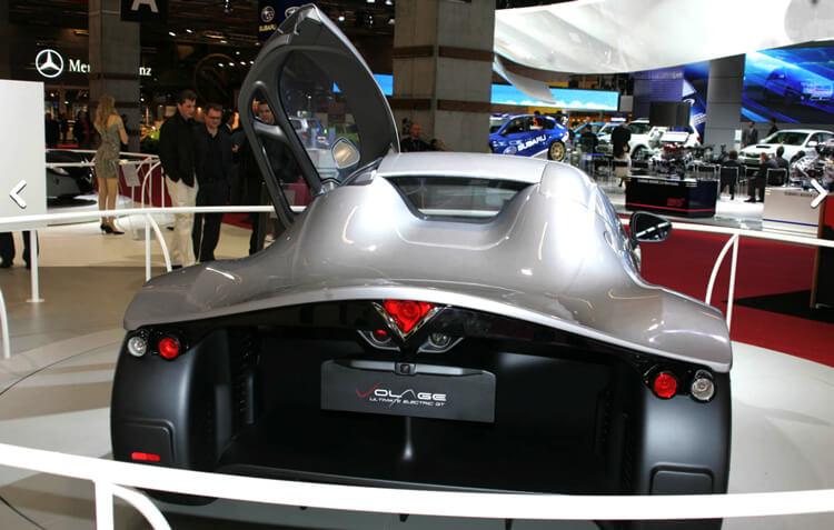Дизайн автомобиля с электроприводом