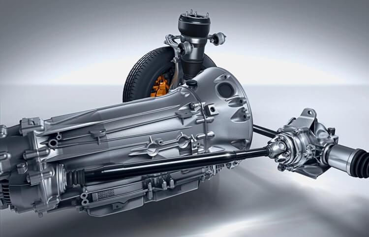 Система Mersedes-Benz 4Matic