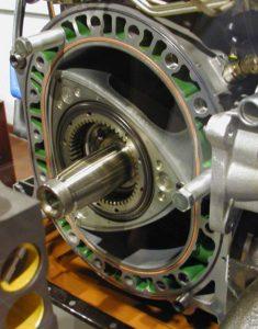 Роторный двигатель изнутри