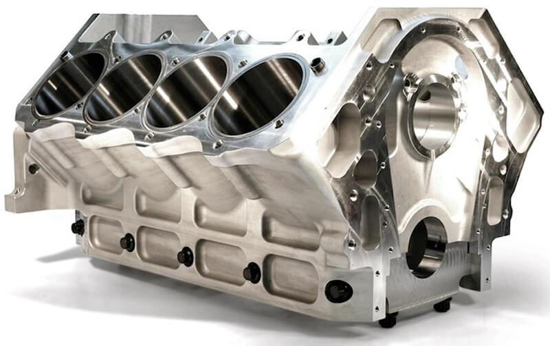 Алюминиевый блок цилиндров двигателя