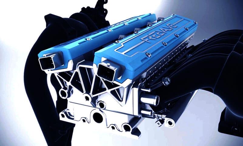 Двигатель без распредвала