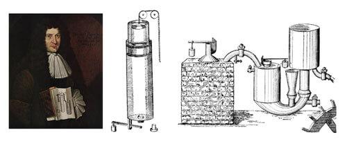 Паровой двигатель Дени Папена