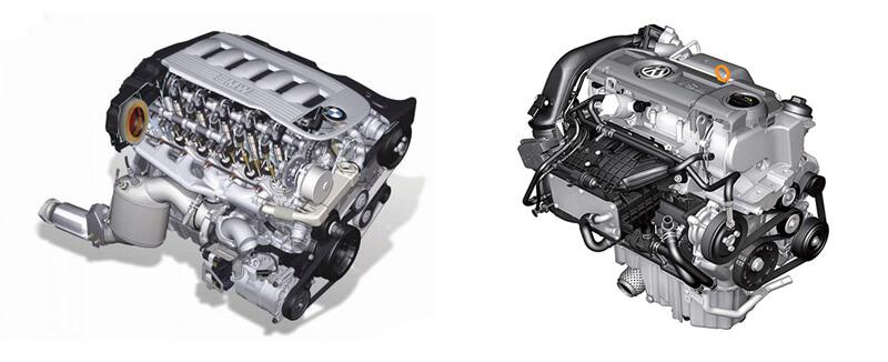 выбираем двигатель бензиновый или дизельный