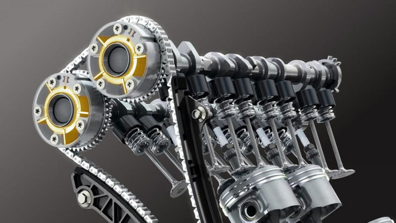 схема газораспределительного механизма двигателя
