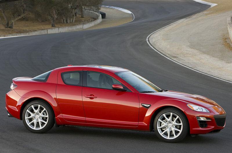 Mazda RX-8 с роторным двигателем