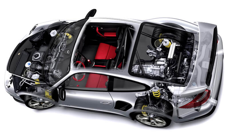 Основные механизмы и системы двигателя