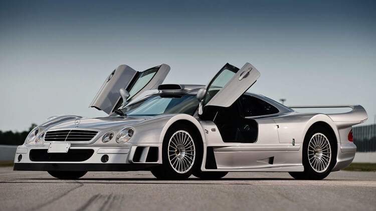 Mercedes Benz CLK GTR Strassenversion