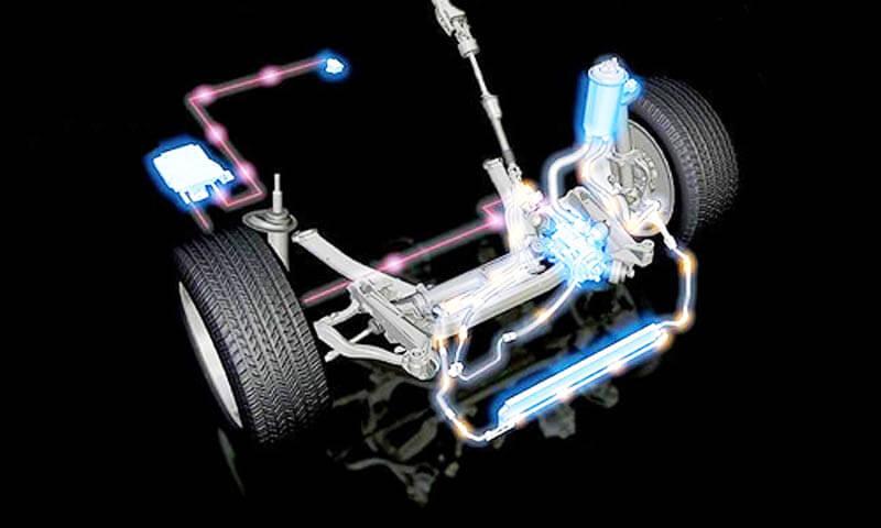 устройство рулевого управления с гидроусилителем