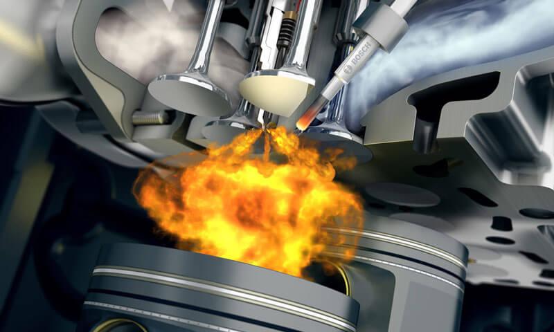 электронная система впрыска топлива