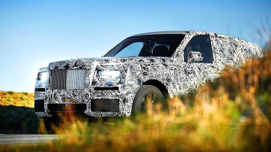 Джип Rolls Royce