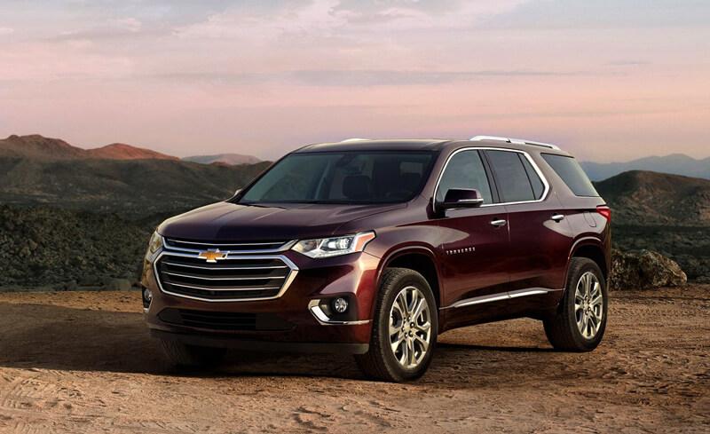 Chevrolet traverse 2017 в россии