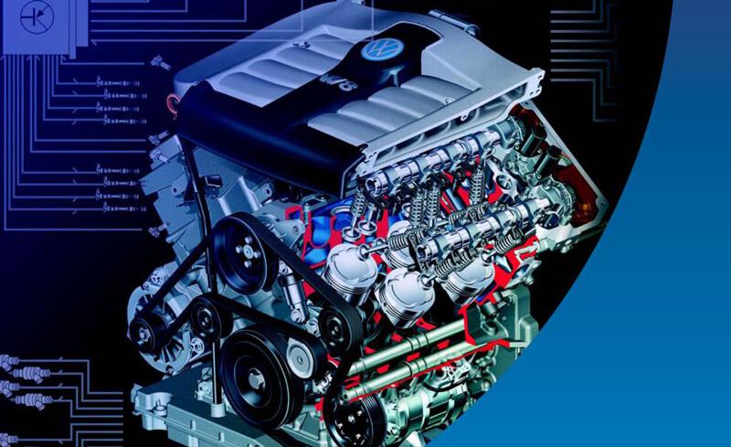 Электронная система управления двигателем