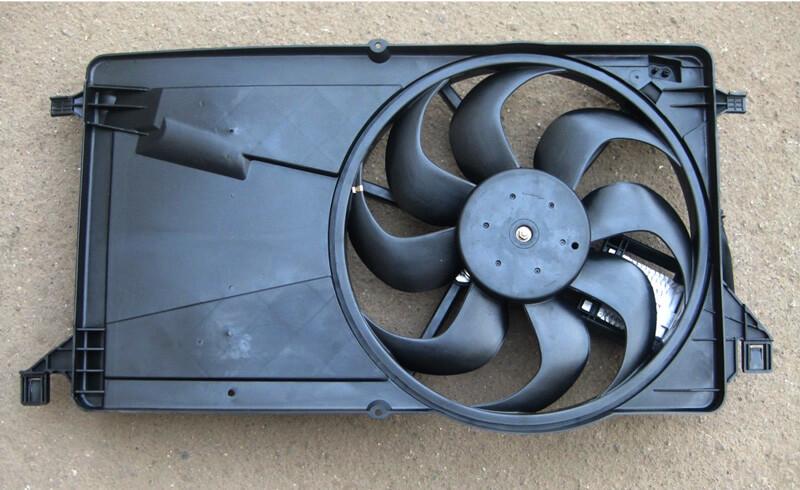Photo of Вентилятор радиатора — создатель ветра под капотом автомобиля