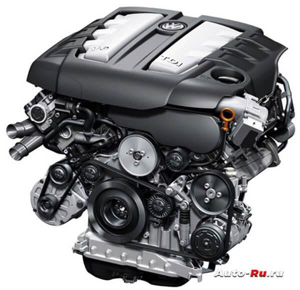 Современный турбодизель V6 TDI