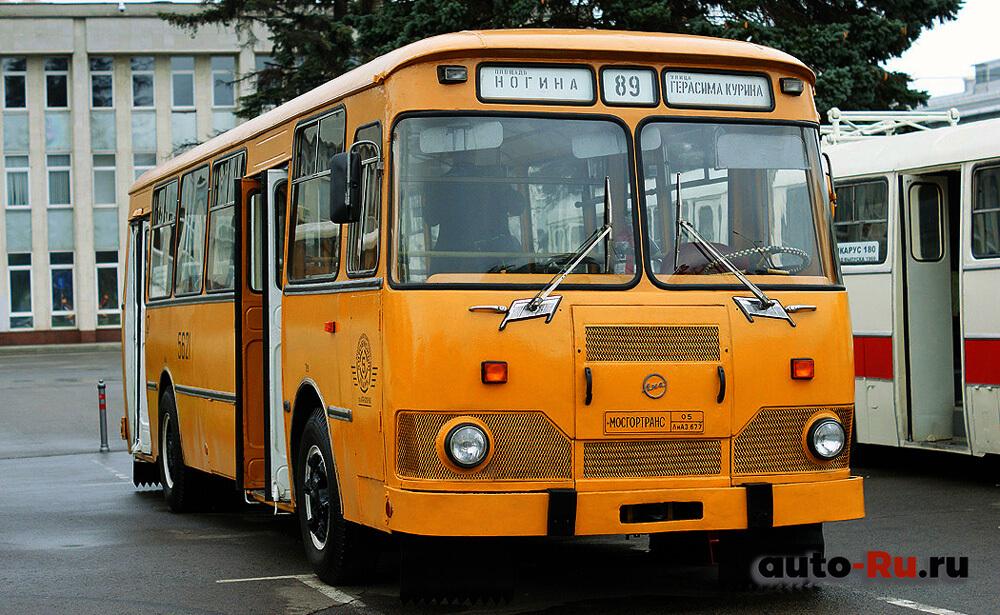 Автобус ЛИАЗ-677 с пневмоподвеской