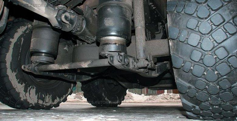 устройство пневмоподвески грузового автомобиля