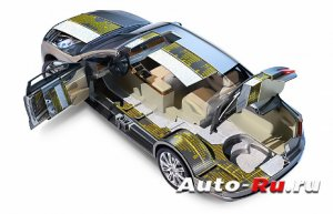 bagagnik 300x193 - Шумоизоляция авто строительными материалами своими руками