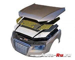 kapott 300x242 - Шумоизоляция авто строительными материалами своими руками