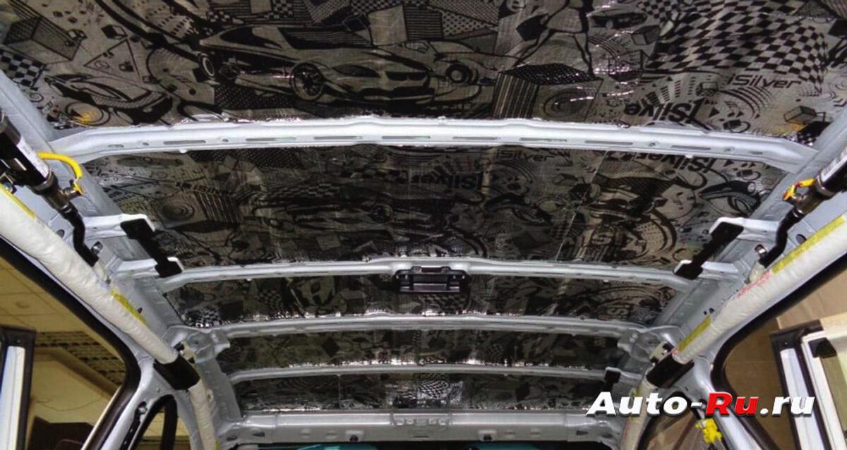 krisha 2 - Шумоизоляция авто строительными материалами своими руками