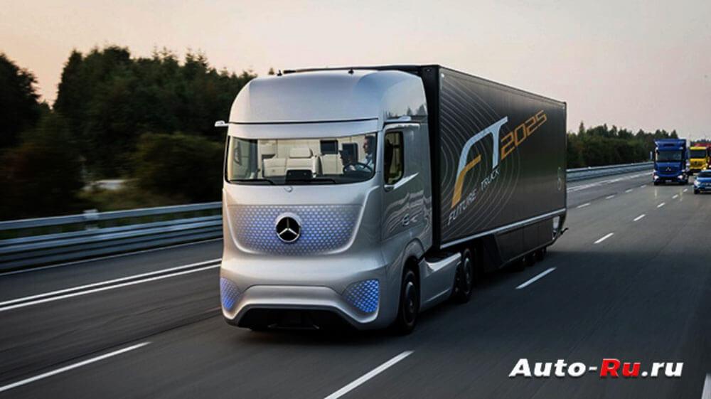 Mercedes Benz Future Truck 2025