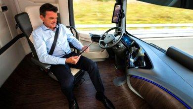 Photo of Автомобиль будущего Mercedes Benz Future Truck 2025