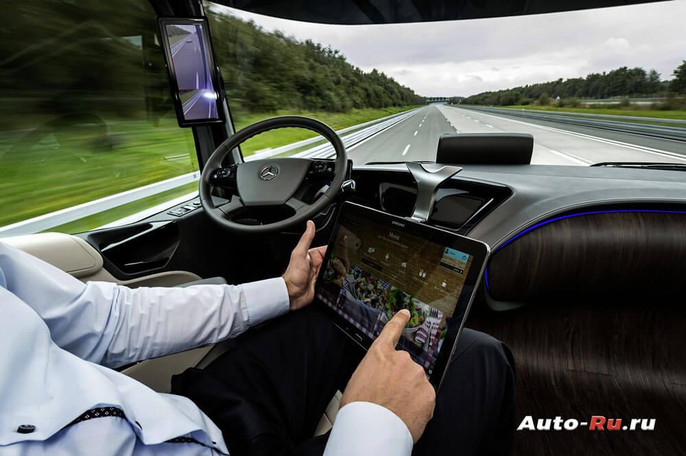 Автомобили будущего. Грузовой концепт Даймблер Бенц Future Truck 2025