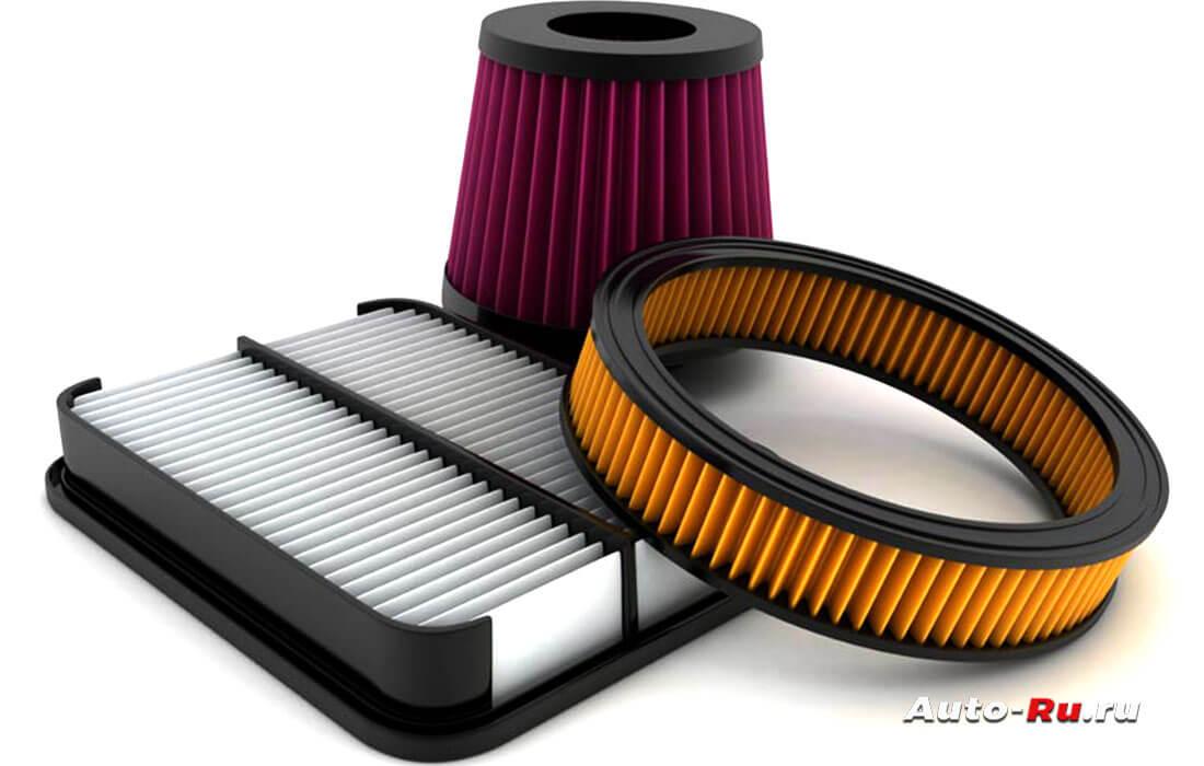 Разновидности воздушных фильтров
