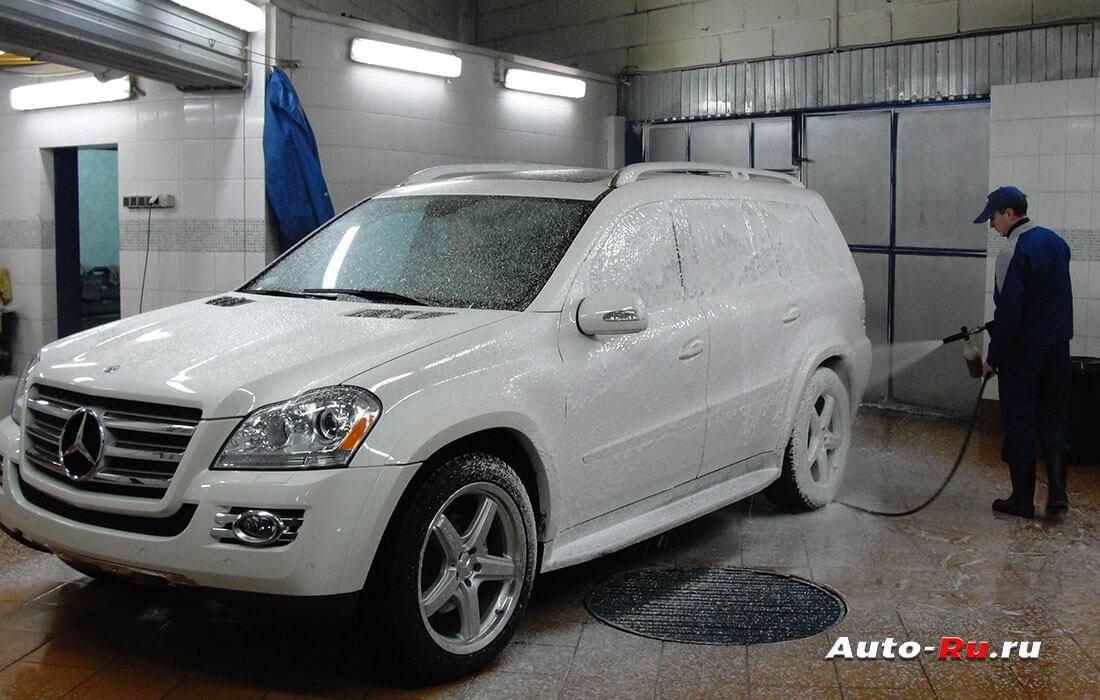 Как мыть машину зимой на мойке