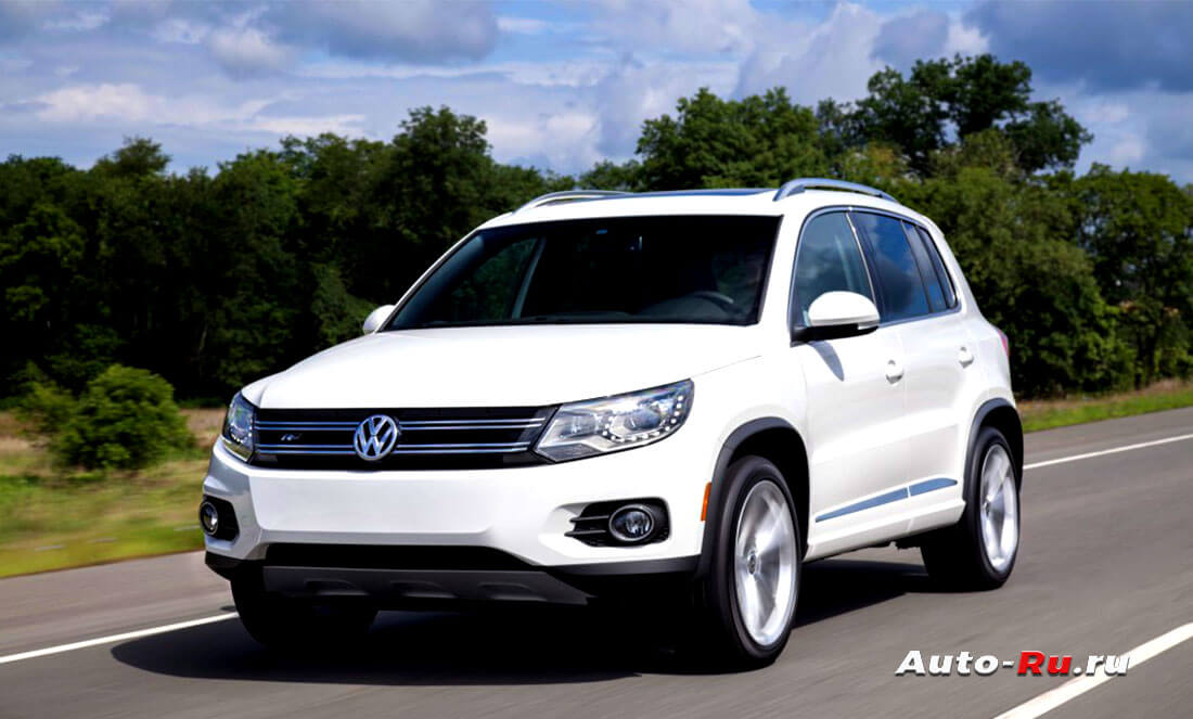 Подержанный автомобиль Volkswagen Tiguan