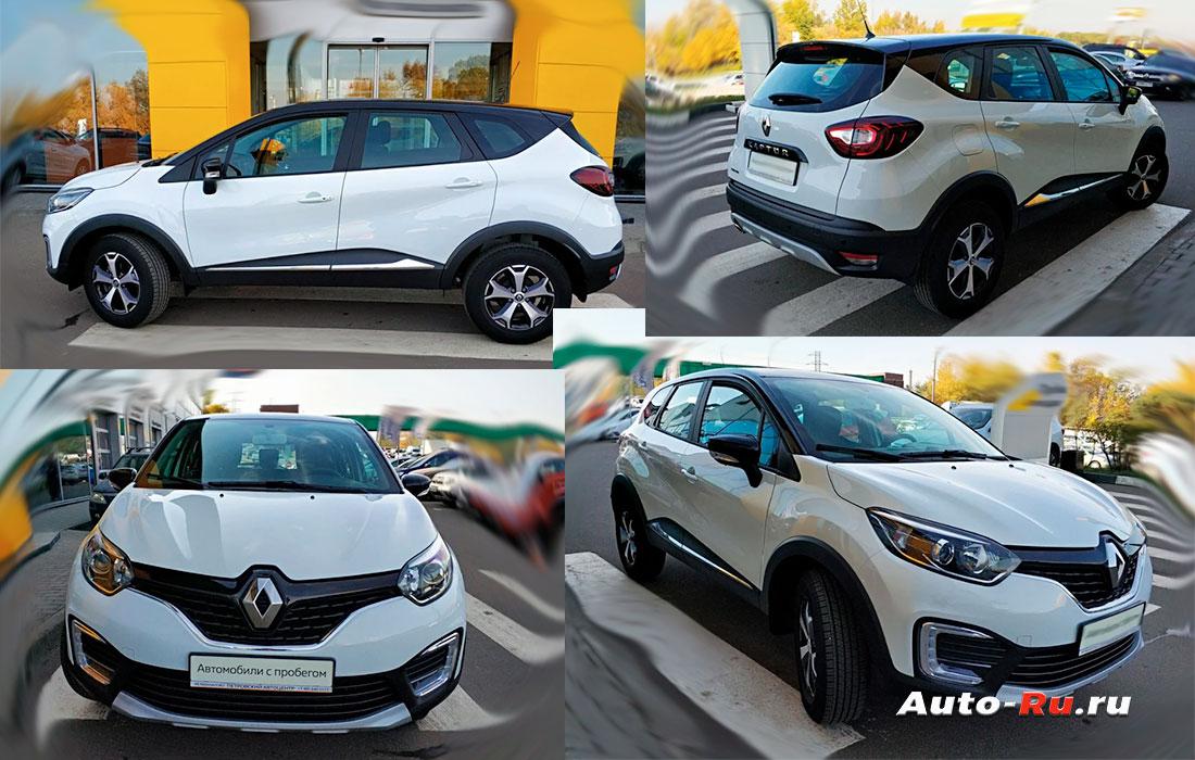 Самые надежные кроссоверы. Renault Kaptur
