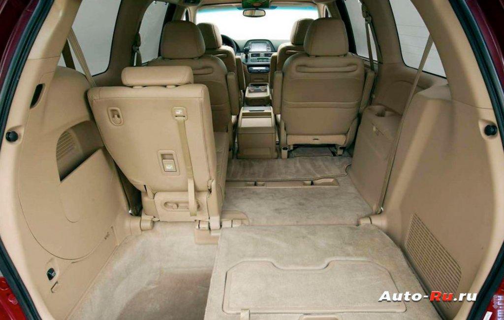 Honda Odyssey салон трансформер