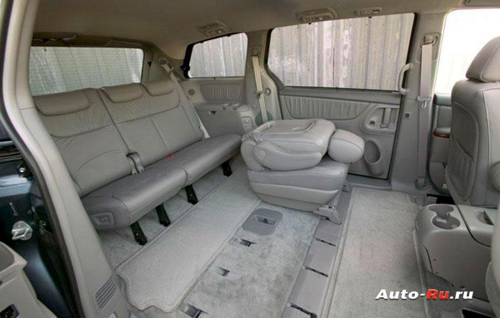 Toyota Sienna комфорт для пассажиров